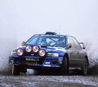 Обои на телефон субару, спортивные, ралли, машины, грязь, гонка, subaru, rally car, dirt rally