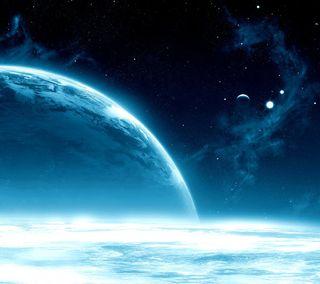Обои на телефон космос, земля, вселенная