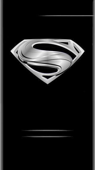 Обои на телефон стальные, супермен, комиксы, грани, герой, man of steel edge, dc
