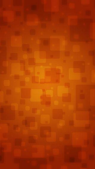 Обои на телефон квадраты, оранжевые, абстрактные
