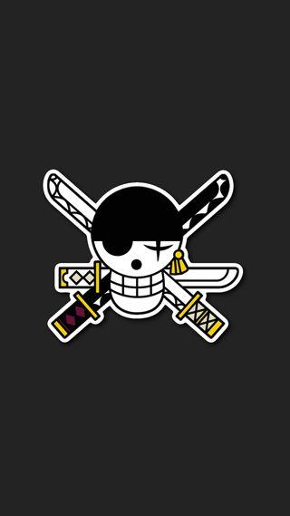 Обои на телефон зорро, череп, стиль, пираты, луффи, войны, арт, аниме, one piece zoro, hd, art