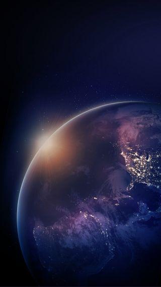 Обои на телефон сияние, природа, космос, земля, айфон, velvet, la terra, iphone