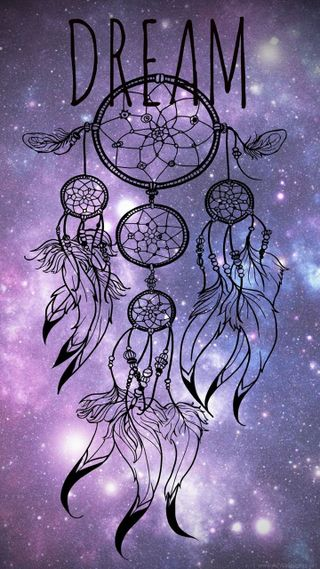 Обои на телефон ловец снов, фиолетовые, сверкающие, мечта, ловец, блестящие