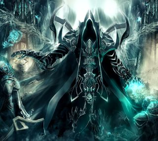 Обои на телефон diablo 3, diablo iii, malthael, reaper of souls, жнец, диабло, души