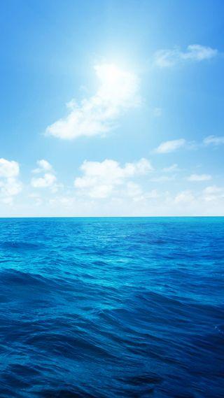 Обои на телефон ты, синие, пожалуйста, море, комментарий, please comment and vote, hd blue sea