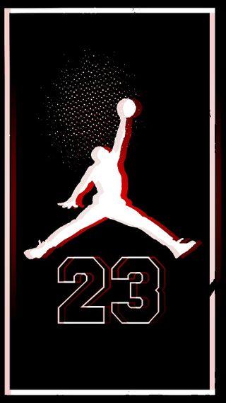 Обои на телефон джордан, баскетбол, черные, air, 23