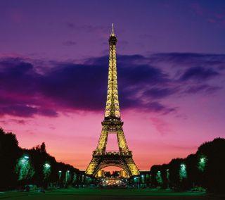 Обои на телефон эйфелева башня, приятные, париж, город