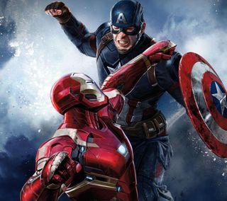 Обои на телефон голливуд, супергерои, рисунки, мультфильмы, марвел, комиксы, гражданская, война, marvel, dc, civil war hd