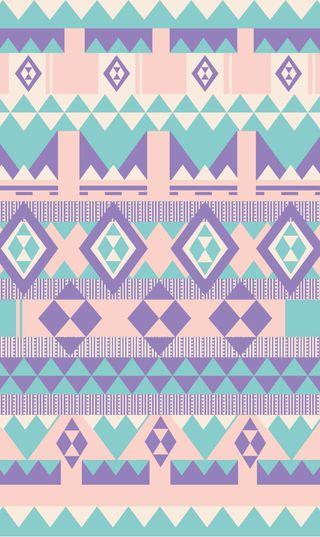 Обои на телефон треугольники, шаблон, цветные, удивительные, синие, розовые, милые, дизайн