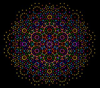 Обои на телефон точки, звезда, star of david, pointillism, esperanza