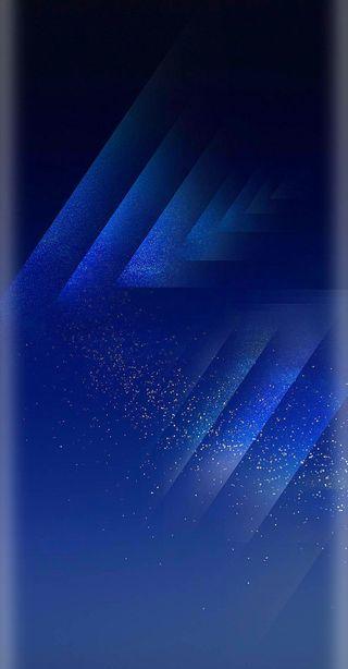 Обои на телефон синие, самсунг, грани, галактика, бесконечность, samsung, s8, infinity, hd, galaxy