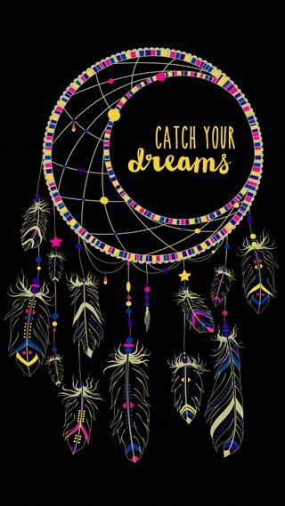 Обои на телефон ловец снов, цветные, твой, современные, мечты, мечта, дизайн, арт, абстрактные, dreamdreamcatcher, catch your dreams, art