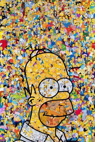 Обои на телефон гомер, симпсоны, мультфильмы, комиксы, simpsons popart