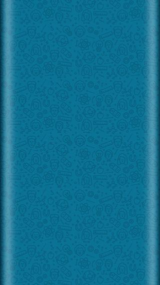 Обои на телефон фан, стиль, синие, дизайн, грани, арт, абстрактные, s7, edge style, design art