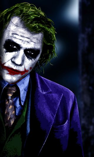 Обои на телефон лицо, джокер, город, бэтмен, аркхем, joker face, batman arkham city