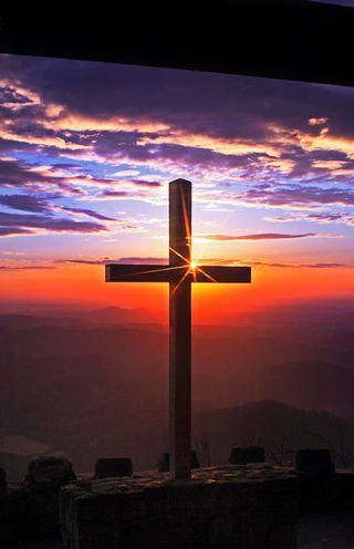 Обои на телефон крест, христианские, небо, исус, sky with cross