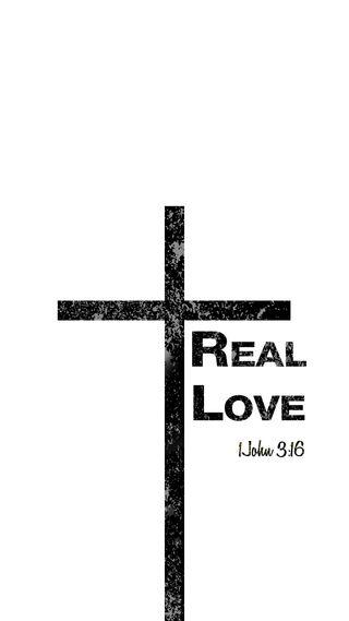 Обои на телефон базовые, реал, простые, писание, любовь, крест, духовные, дизайн, вдохновляющие, вдохновение, библия, белые, verse, love, blackcross, biblical, 1john316, 1john