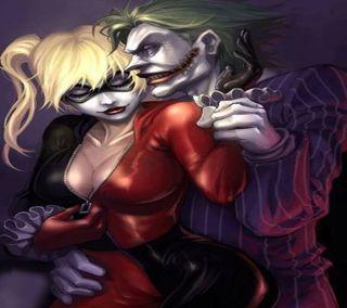 Обои на телефон харли, романтика, любовь, куинн, забавные, джокер, бэтмен, love, joker harely quinn