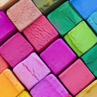 Обои на телефон еда, цветные, формы, лед, квадратные, icey