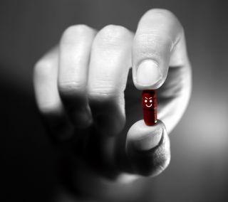 Обои на телефон зло, фон, рука, красые, pill, evil red, evil pill
