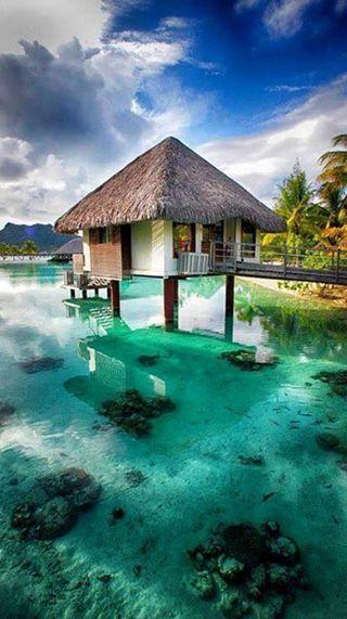 Обои на телефон рай, пляж, море, paradise sea, maldive, bora bora