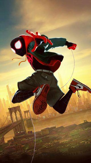 Обои на телефон через вселенные, финал, человек паук, супергерои, мстители, марвел, война, бесконечность, marvel