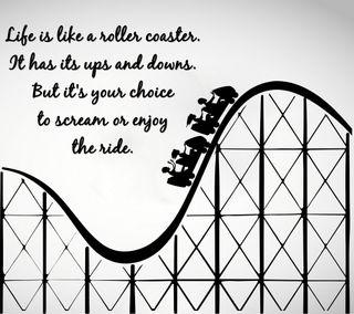 Обои на телефон цитата, поговорка, новый, крутые, знаки, жизнь, roller coaster, liveroller coaster, cry