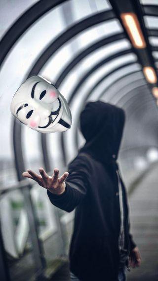 Обои на телефон взлом, анонимус