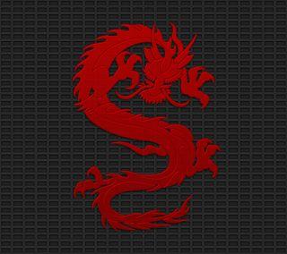 Обои на телефон art, dragon, черные, красые, дизайн, арт, дракон, тату, стальные, племенные, футуристические
