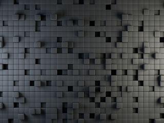 Обои на телефон коробка, черные, серые, кубы, крутые, белые, абстрактные, 3д, 3d
