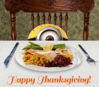Обои на телефон благодарение, турецкие, счастливые, миньоны, день, turkey day, happy