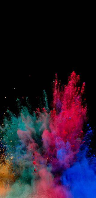 Обои на телефон сумасшедшие, цветные, рисунки, новый, дизайн, взрыв, брызги, splash colour, recommanded, lshr