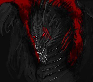 Обои на телефон дрейк, черные, темные, рептилия, змея, змеевидный, зло, дракон, графические, dragon, dark dragon graphic
