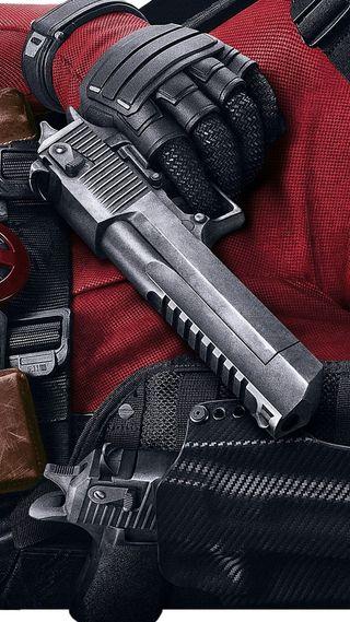 Обои на телефон постер, фильмы, оружие, дэдпул