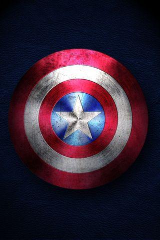 Обои на телефон щит, капитан, америка