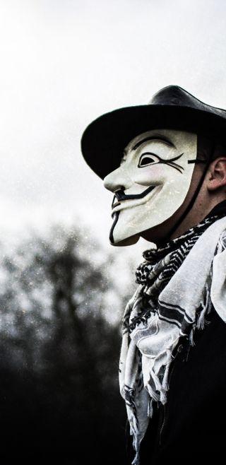 Обои на телефон хакер, технология, технологии, маска, взлом, анонимус, masked, hacked, anon