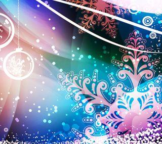 Обои на телефон снежинки, рождество, bells