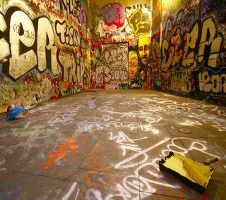 Обои на телефон граффити, strret graffiti, 2160x1920