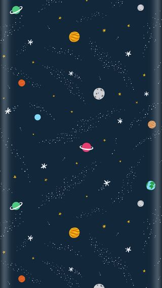 Обои на телефон стиль, синие, звезды, грани, галактика, абстрактные, s7, kosmos, galaxy, edge style