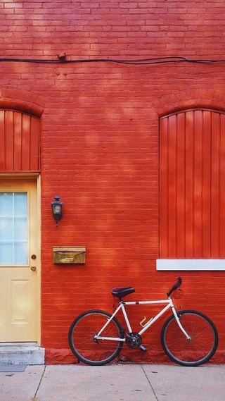 Обои на телефон дом, байк, прекрасные, красые, дверь