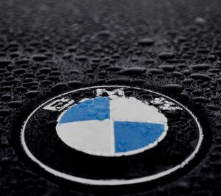 Обои на телефон дождь, бмв, автомобили, bmw