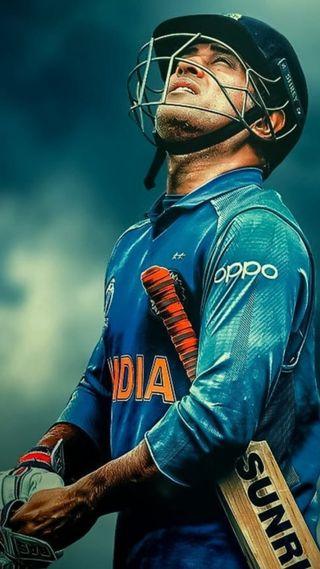 Обои на телефон ms dhoni, спортивные, индия, крикет, дхони