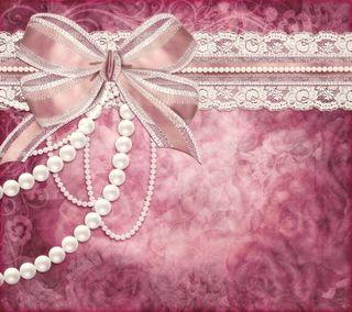Обои на телефон лук, романтика, розовые, кружево, дизайн, винтаж, vintage romance