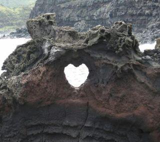 Обои на телефон сердца, природа, пейзаж, любовь, romantico, corazon 018