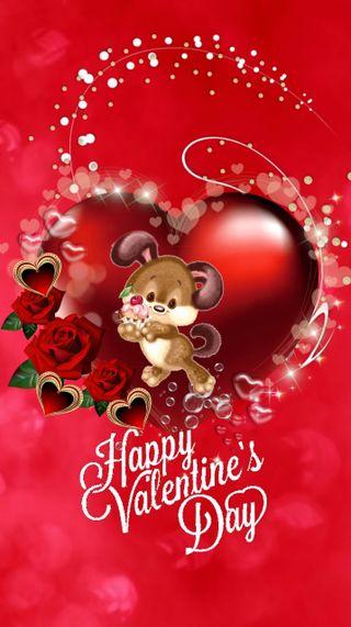 Обои на телефон валентинки, счастливые, сердце, любовь, день, love, 720x1280px