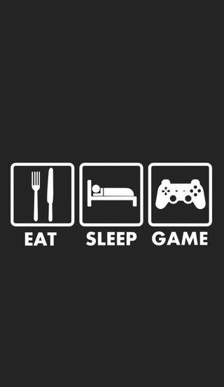Обои на телефон сон, игра, ешь