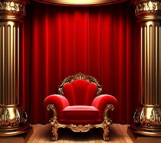 Обои на телефон королева, красые, король, короли, золотые, kings chair, curtains, chair