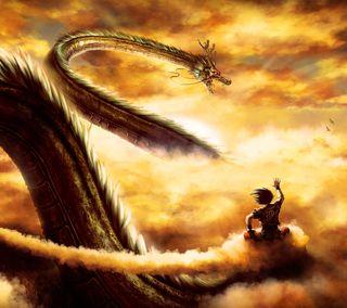 Обои на телефон мяч, дракон, гоку, аниме, nube, esferas, dragon, bolas