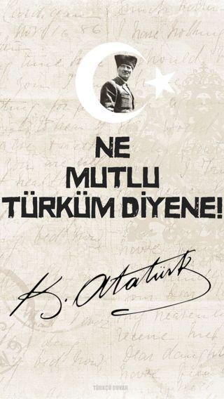 Обои на телефон тюркский, ататюрк, турецкие, turkcu duvar