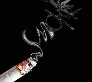 Обои на телефон сигареты, дым